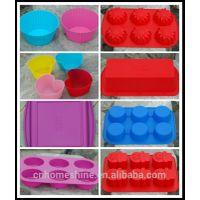 silicone cake mould & muffin pan