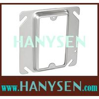 """Raised 4""""Square one Gang device ring cover thumbnail image"""