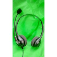 Professional headset for Call Center Telephone Operator RJ9 RJ11