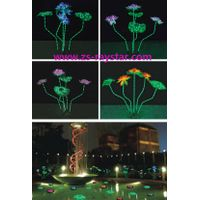 zhongshan raystar lotus lamps with 15w 220v for park