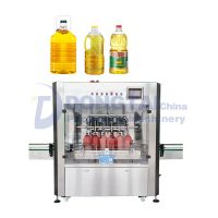 Cooking Oil Filling Machine Automatic weighing edible oil filling machine thumbnail image