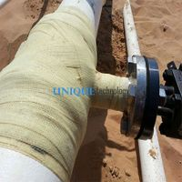 Industrial Pipe Fix Bandage Armor Wrap Tape Pipeline Repair Bandage