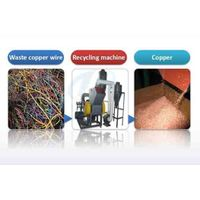Scrap copper cable separator for sale