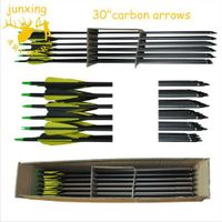 350 spine carbon arrows for compound bow thumbnail image
