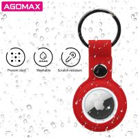 Protective Silicone Airtag Case Cover Key Ring Holder for Airtag