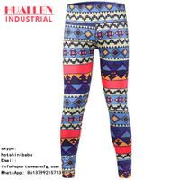 wholesale leggings sport with fashion printing plus size