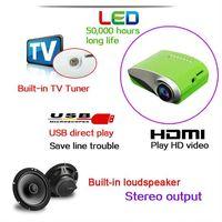 YI-800 Mini LED projector with TV/USB