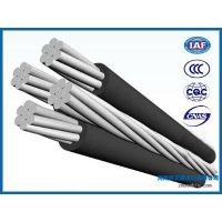 Overhead quadruplex service drop cable