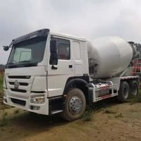 Refurbished Howo 12m3 Concrete Mixer Truck