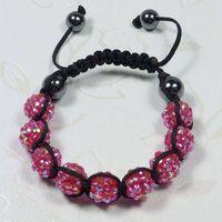 2011simple-style shamballa bead bracelet thumbnail image