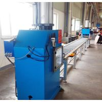 gas hydraulic booster for bending copper bar