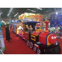 playground trackless train