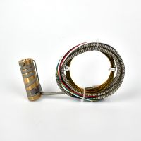 Laiyuan 1255mm Electric Heating Element Hot Runner Spring Coil Heater