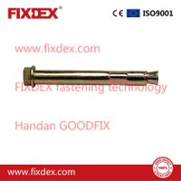 HEX bolt sleeve anchor with hexagon head expansion bolt zinc plated thumbnail image