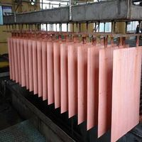 99.99% copper cathodes