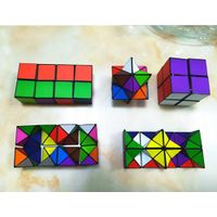 Hot Selling Colorful Plastic Anti Stress hand spinner Infinity Cube