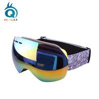 Custom revo coating mirrored snow goggles