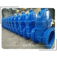 PN16 DUCTILE IRON GGG40 EPDM RESILIENT SEATED GATE VALVE thumbnail image