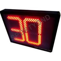 Good quality water polo electronic digital shot clock with 30 seconds display offer