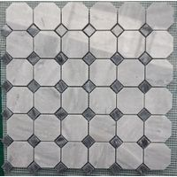 natural stone mosaic, waterjet mosaic tile for bathroom, granite and marble mosaic