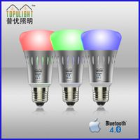 bluetooth color changing smart led bulb