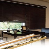 Bintronic Motorized wooden blinds (BT-MWB)