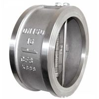 Wafer Type Dual Plates Check Valve Cast Iron/Steel thumbnail image