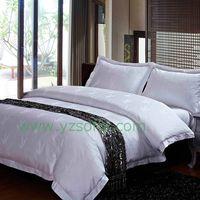 100% Cotton Hotel Bed Set/High Quality Hotel Linen Set/Star Hotel Bed Linen Set