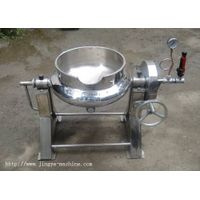 Jacketed kettle for small experiment (tilting)