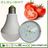 9W led plant grow light for vegetables flowers fruits hydroponics plant growth thumbnail image