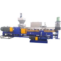 plastic PET bottle flakes granule recycling machine pellets making machine