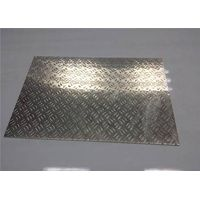 Customized Aluminum Tread Plate Sheet For Steamboat / Staircase