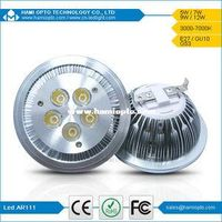 High power LED G53 5W LED AR111 Lamp Down Light, Recessed LED Downlight Spot DC12V