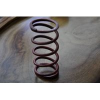 Elastic compression spring