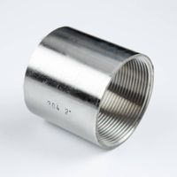 stainless steel pipe fittings, coupling of thread pipe fittings