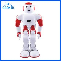 Fancy Gift Intelligent Mini Robot Light and Sound Dancing entertainment 17 DOF Toy Robot Interact wi
