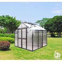 Hobby Greenhouse - Tempered Glass Series, 194 x 261 x 229CM
