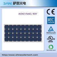 90 Watt Maximum Power Mono-Crystalline Solar Module
