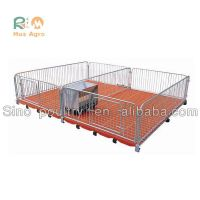 Super Quality Useful pvc panel weaning crates popular warm keeping pig nursery crates pig weaning n