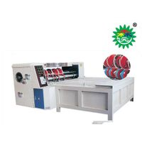 Rotary die cutting machine for Pizza box