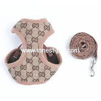 Quality China pet supply, dog harness with dog leash thumbnail image