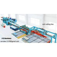 aluminum strip shearing line levelling