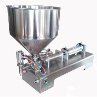 Semi automatic ointment filling machine