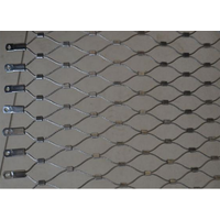 Stainless steel wire netting/zoo enclosure wire mesh/stainless steel cable netting thumbnail image