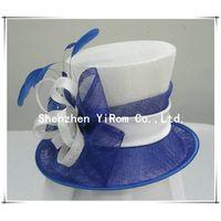 YRSM13060 sinamay hat,church hat,derby hat,race hat,occasion hat thumbnail image