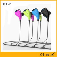Golden Supplier for Wireless Bluetooth Military or Sport Waterproof headset with in-ear style led di thumbnail image