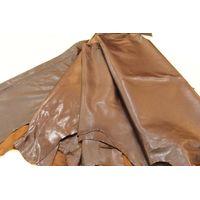 Genuine sheepskin leather