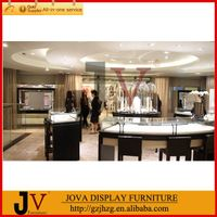 Glass jewelry display cabinets with LED lights in China thumbnail image