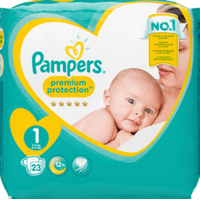 Pampers diapers and wet wipes