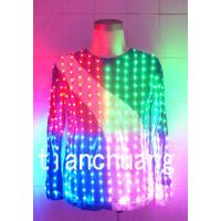 Flashing LED T shirt